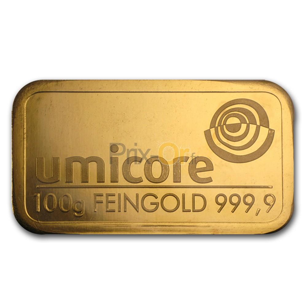 100g Lingot D Or Prix D Un Lingot D Or De 100g Comparer Le Prix