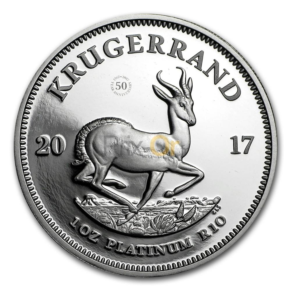 krugerrand en platine | comparer le prix | acheter krugerrand | prix